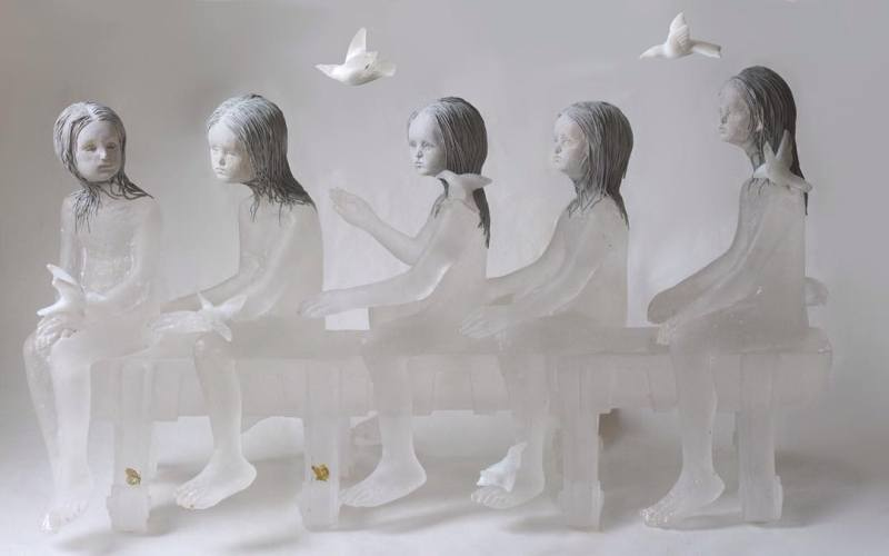 14-Girls With Birds (w Robert D Bender).jpg
