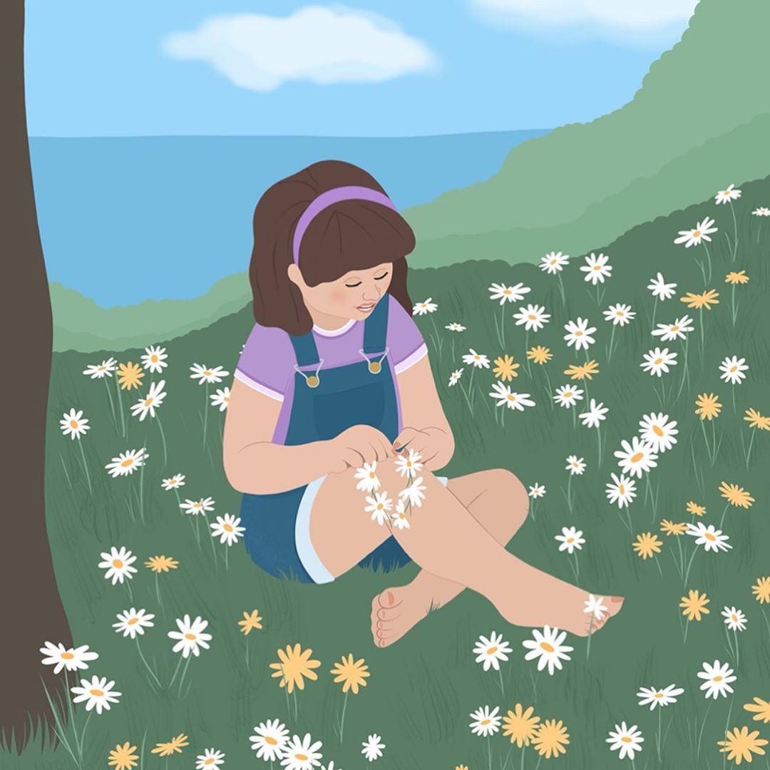 Лето и девушки: серия иллюстраций Good Weather 89366675_231369614659194_8380688891117027122_n.jpg