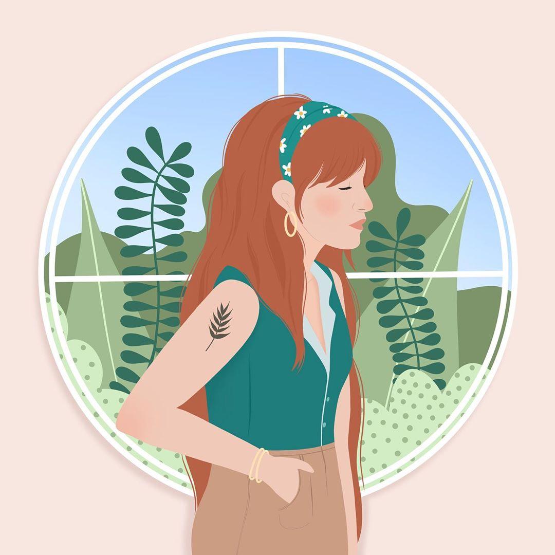 Лето и девушки: серия иллюстраций Good Weather 95411186_1494799250701607_7664731349351514554_n.jpg