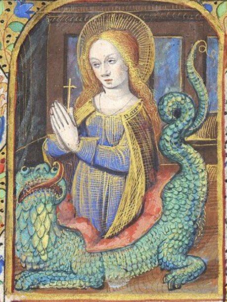 Как разделалась с драконом святая Маргарита D1mQlQgXQAA87rY.jpg