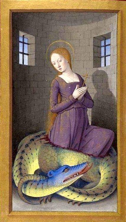 Как разделалась с драконом святая Маргарита ToniHamel_03.jpg