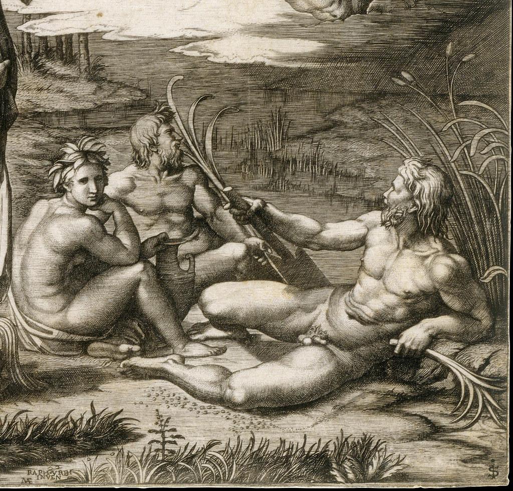 Суд Париса (гравюра по утраченному оригиналу Рафаэля, 1515-1516), фрагмент (2).jpg