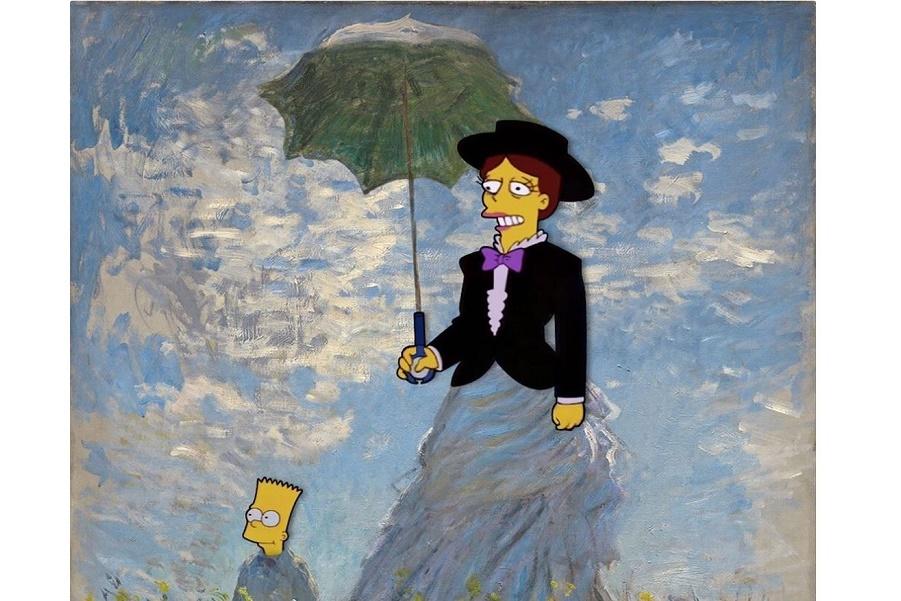 Симпсоны встречаются с искусством (3).JPG