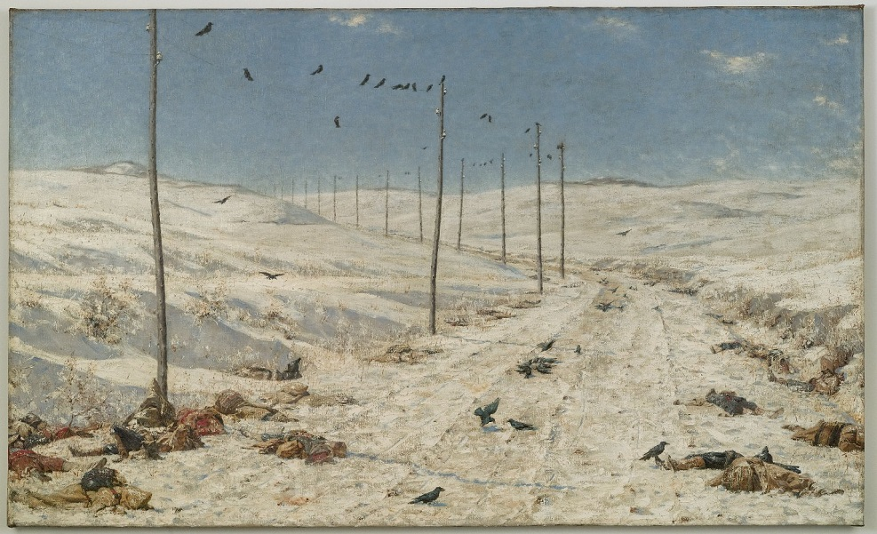 Prisioneros Vasily Vereshchagin (1842-1904). The Road of the War Prisoners (1878-1879) Brooklyn Museum. NY.jpg