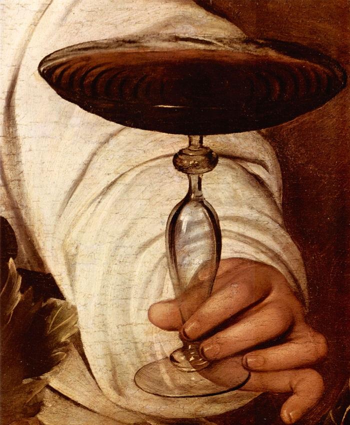 Bacchus detail 2 by Caravaggio.jpg