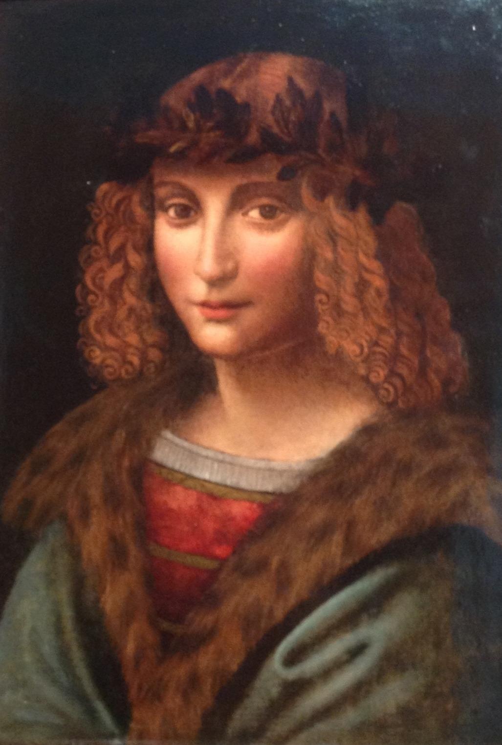 Портрет Салаи — ученика, наследника художника и первого владельца «Джоконды» (работы неизвестного художника круга Леонардо (1).jpg