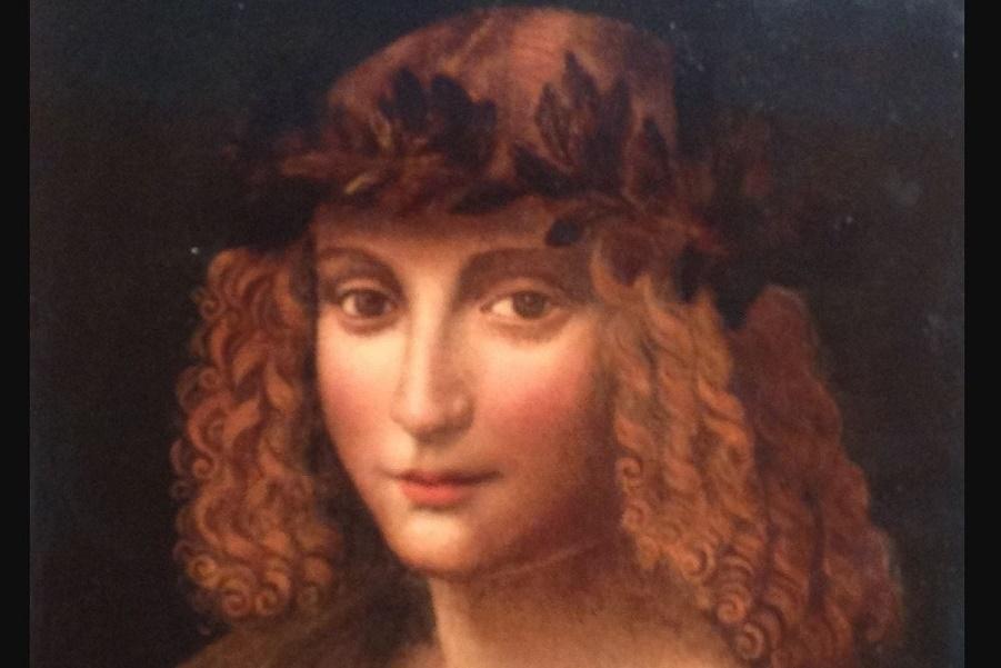 Портрет Салаи — ученика, наследника художника и первого владельца «Джоконды» (работы неизвестного художника круга Леонардо (3).JPG