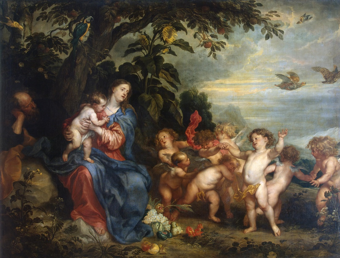 Anthony_van_Dyck_and_Pauwel_de_Vos_-_Rest_on_the_Flight_into_Egypt_(Madonna_with_Partridges).jpg