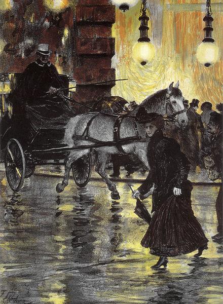 440px-Franz_Skarbina_Friedrichstraße_an_einem_regnerischen_Abend_1902