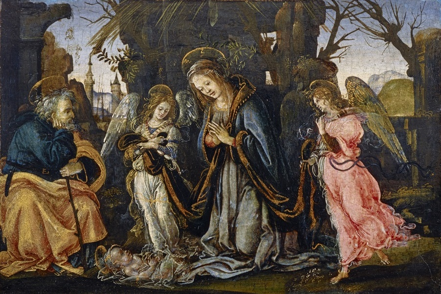Lippi-Filippino-Nativity-with-two-angels-c1490-95-tempera-on-panel-National-Galleries-of-Scotland.jpg