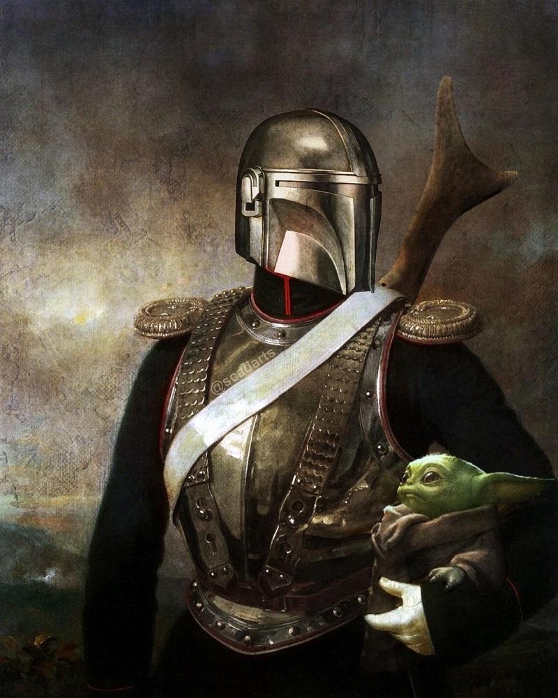 Иконы «Звездных Войн» в образах эпохи Возрождения  (5).jpg