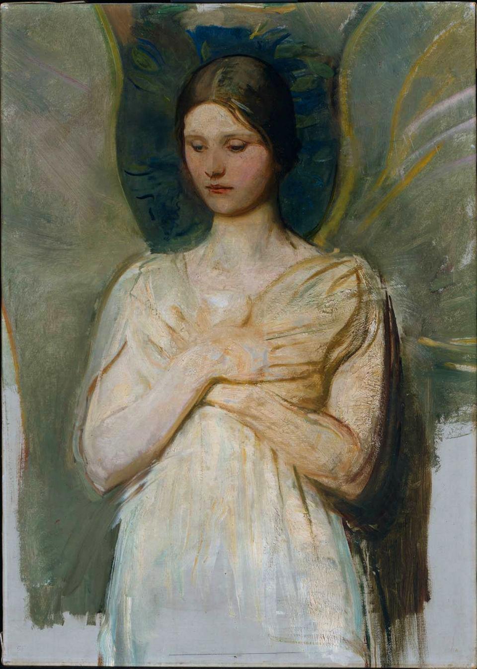 картины Эбботта Тейера «Ангел»  (3).jpg