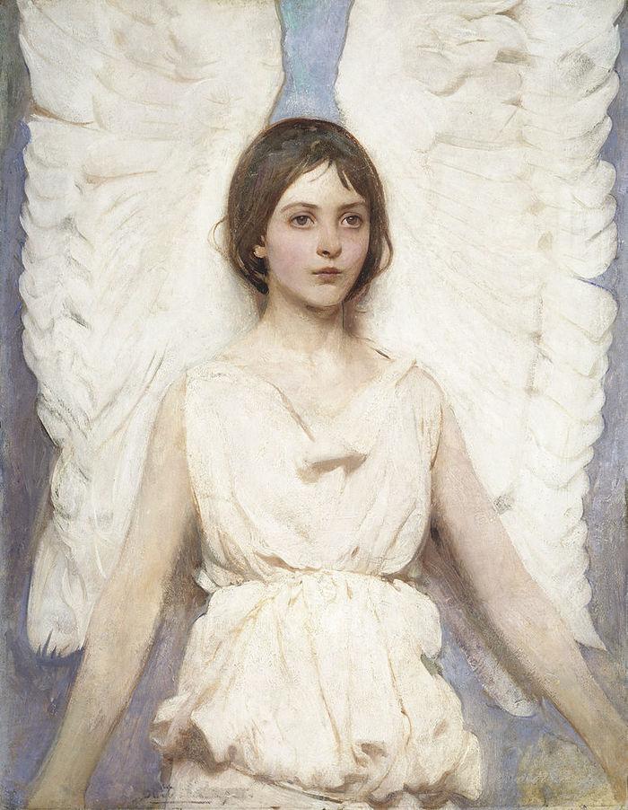 картины Эбботта Тейера «Ангел»  (4).jpg