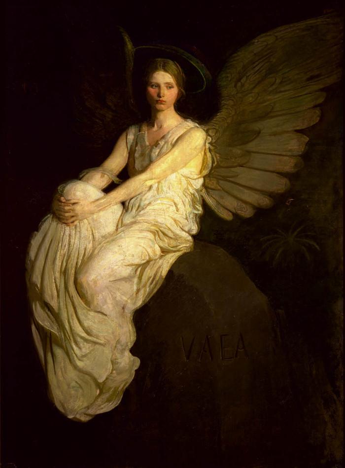 картины Эбботта Тейера «Ангел»  (5).jpg