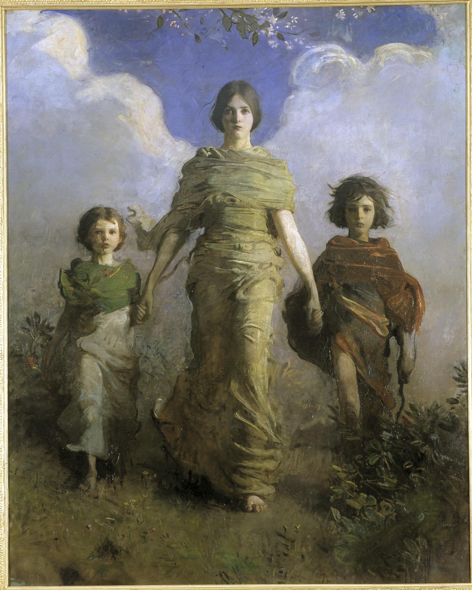 картины Эбботта Тейера «Ангел»  (10).jpg