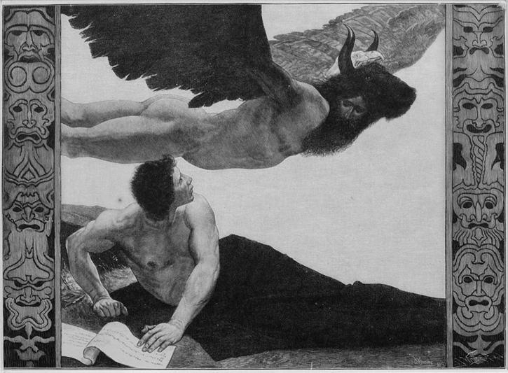 Саша Шнайдер (1870-1927), немецкий художник-символист  (2).jpg