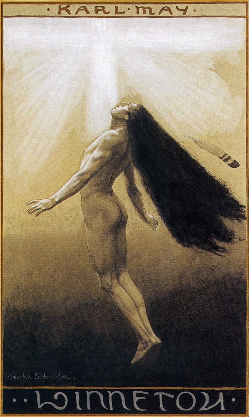Саша Шнайдер (1870-1927), немецкий художник-символист  (7).jpg