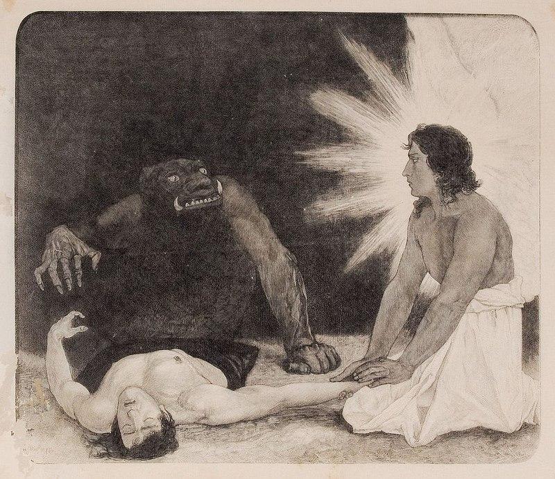 Саша Шнайдер (1870-1927), немецкий художник-символист  (9).jpg