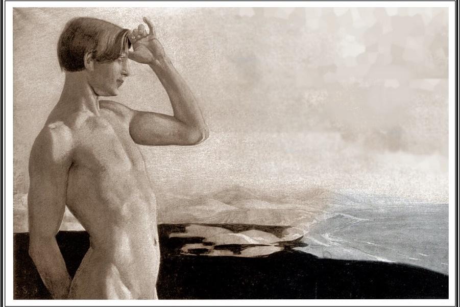 Саша Шнайдер (1870-1927), немецкий художник-символист  (10).jpg