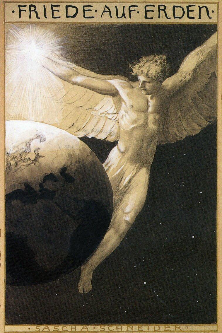 Саша Шнайдер (1870-1927), немецкий художник-символист  (12).jpg
