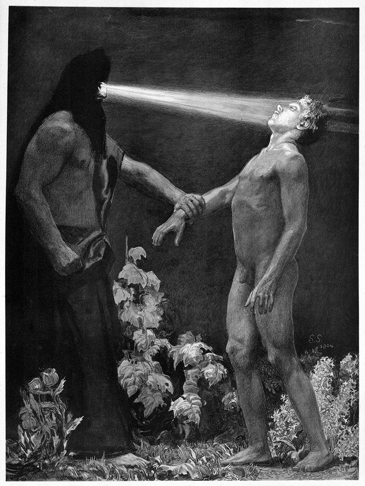 Саша Шнайдер (1870-1927), немецкий художник-символист  (13).jpg