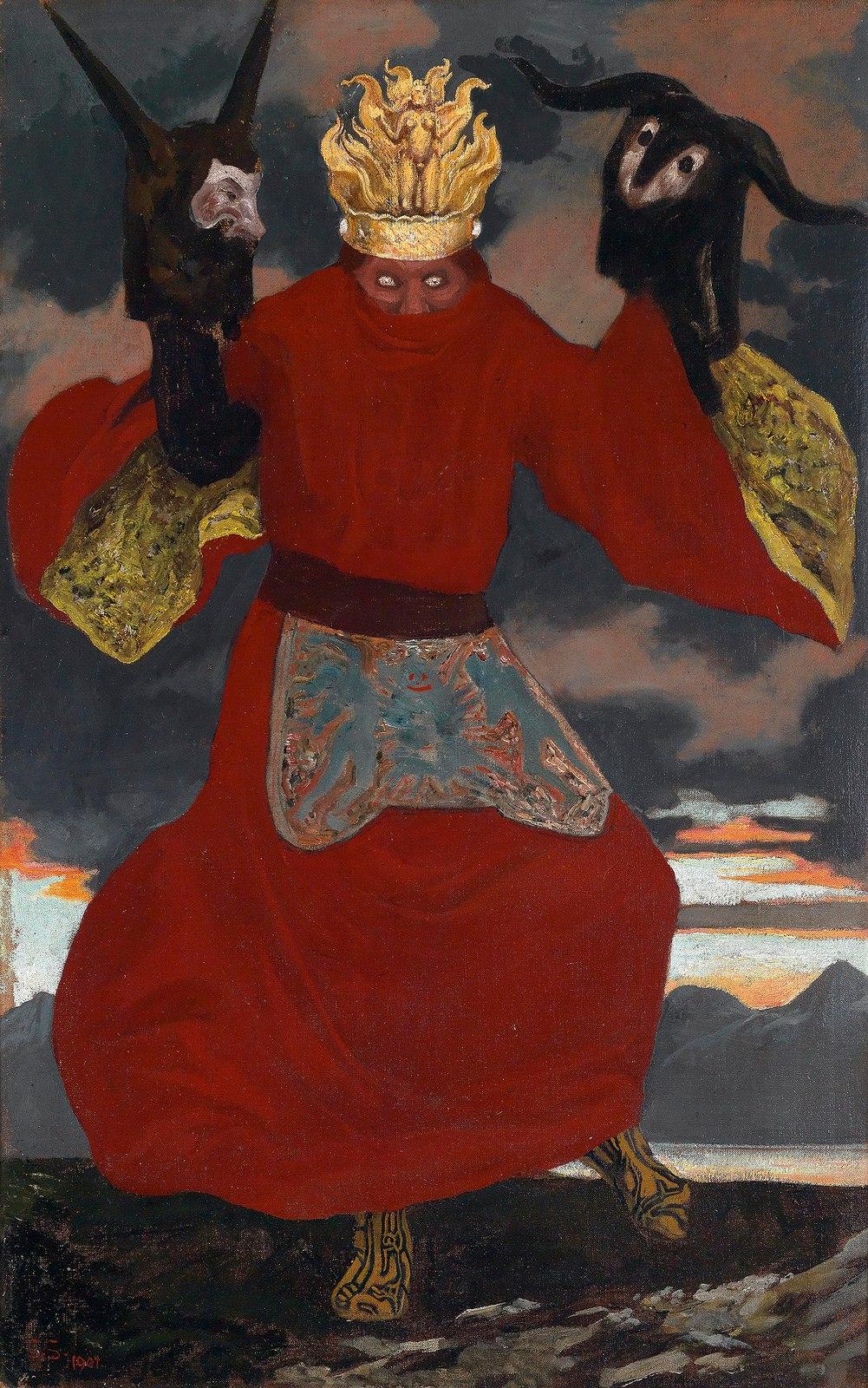 Саша Шнайдер (1870-1927), немецкий художник-символист  (15).jpg