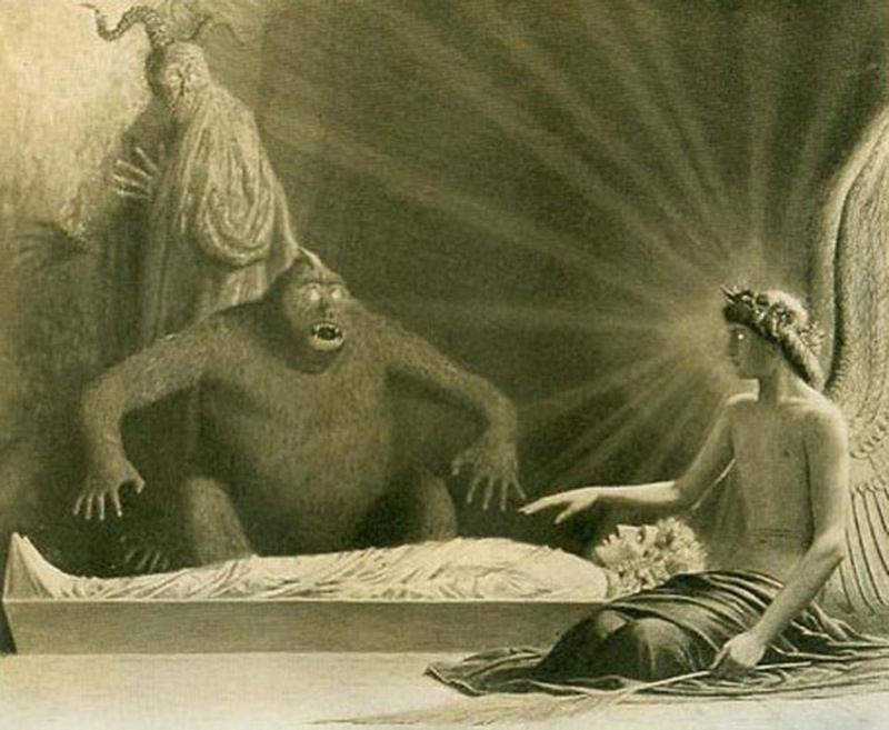 Саша Шнайдер (1870-1927), немецкий художник-символист  (17).jpg