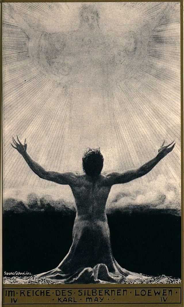 Саша Шнайдер (1870-1927), немецкий художник-символист  (18).jpg