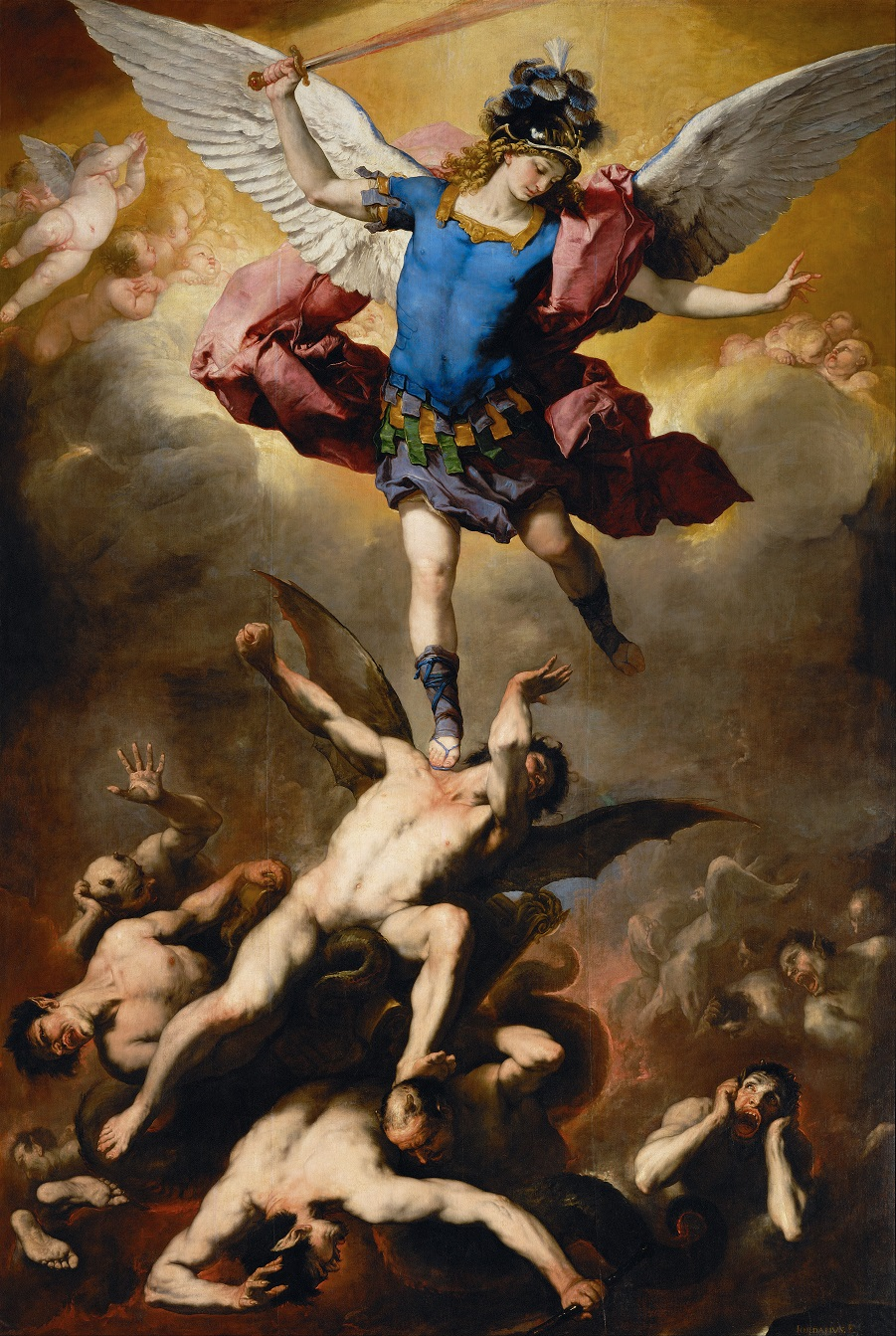 «Падение мятежных ангелов» Лука Джордано  (5).jpg