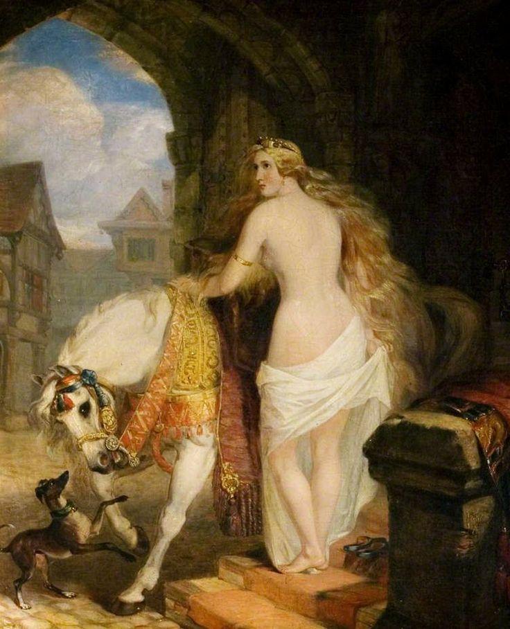 Леди Годива, 1850 г, Маршал Клэкстон.jpg