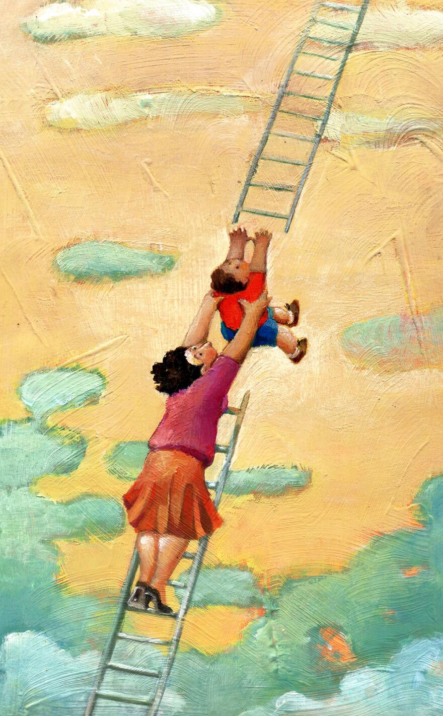Кристина Бернаццани и ее сюрреалистические иллюстрации  (2).jpg