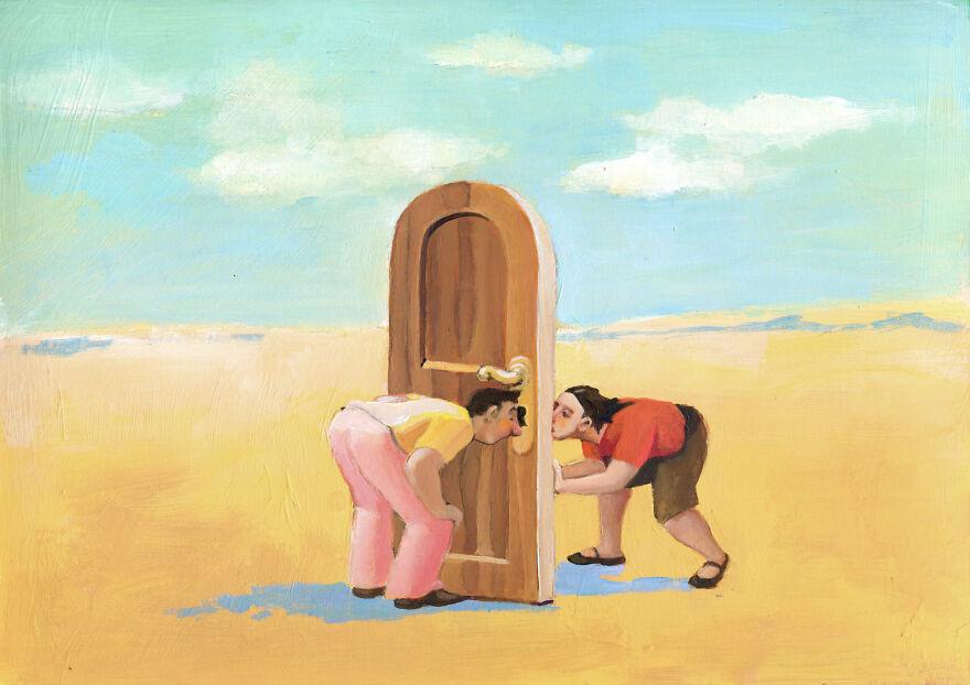 Кристина Бернаццани и ее сюрреалистические иллюстрации  (8).jpg