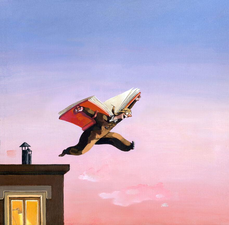 Кристина Бернаццани и ее сюрреалистические иллюстрации  (9).jpg