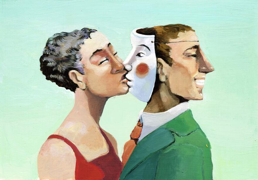 Кристина Бернаццани и ее сюрреалистические иллюстрации  (11).jpg