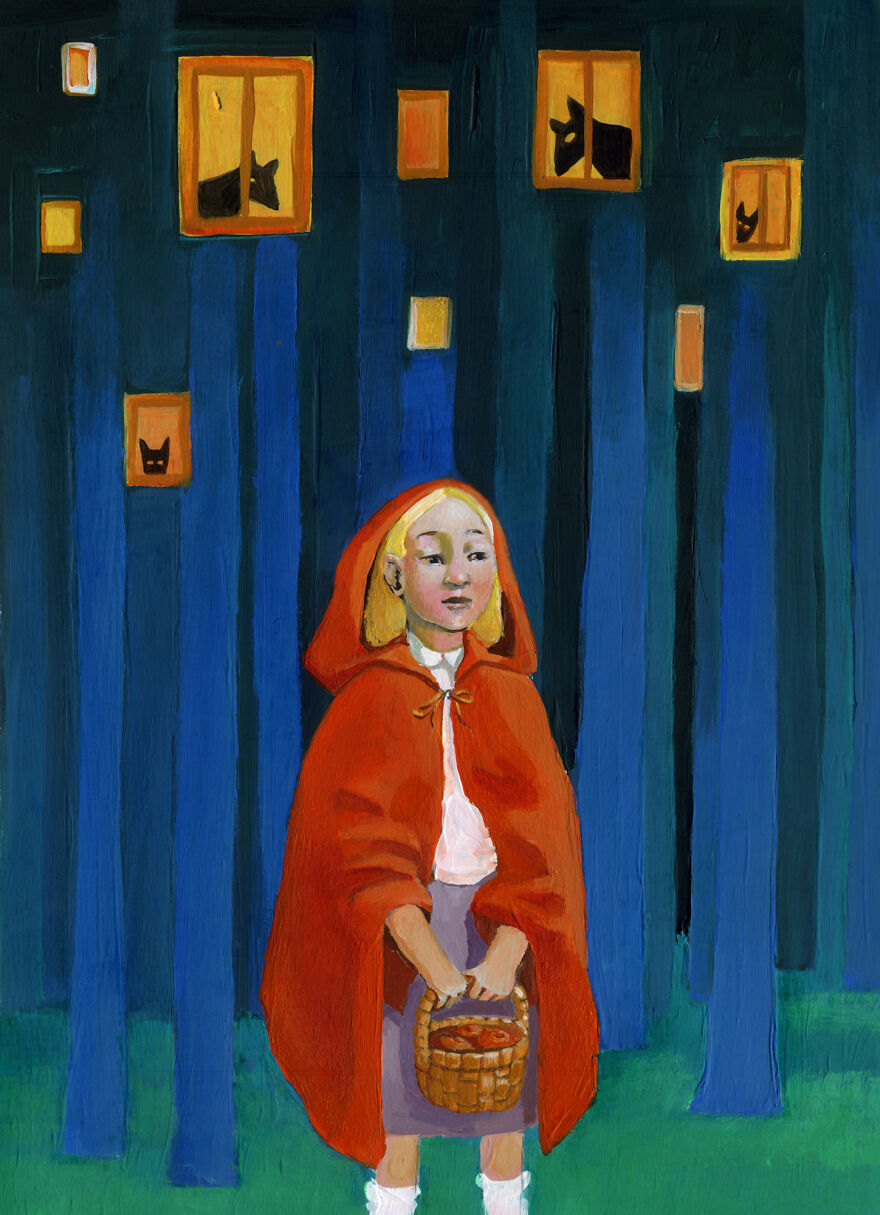 Кристина Бернаццани и ее сюрреалистические иллюстрации  (13).jpg