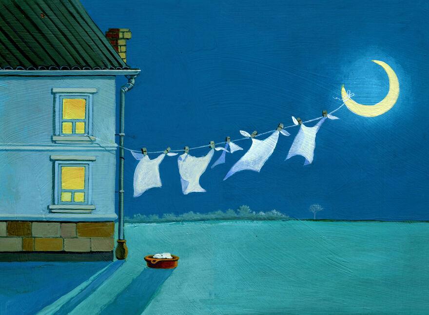 Кристина Бернаццани и ее сюрреалистические иллюстрации  (16).jpg