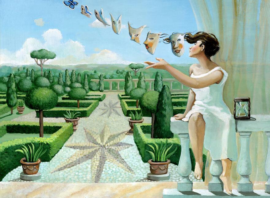 Кристина Бернаццани и ее сюрреалистические иллюстрации  (19).jpg