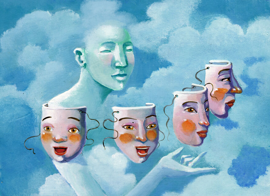 Кристина Бернаццани и ее сюрреалистические иллюстрации  (20).jpg