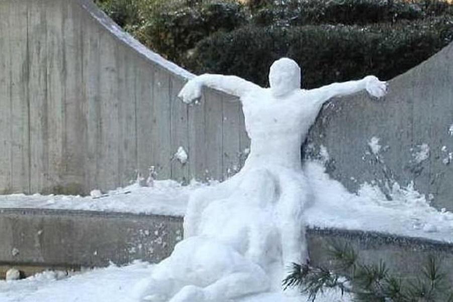 Канадский снеговик (5).JPG
