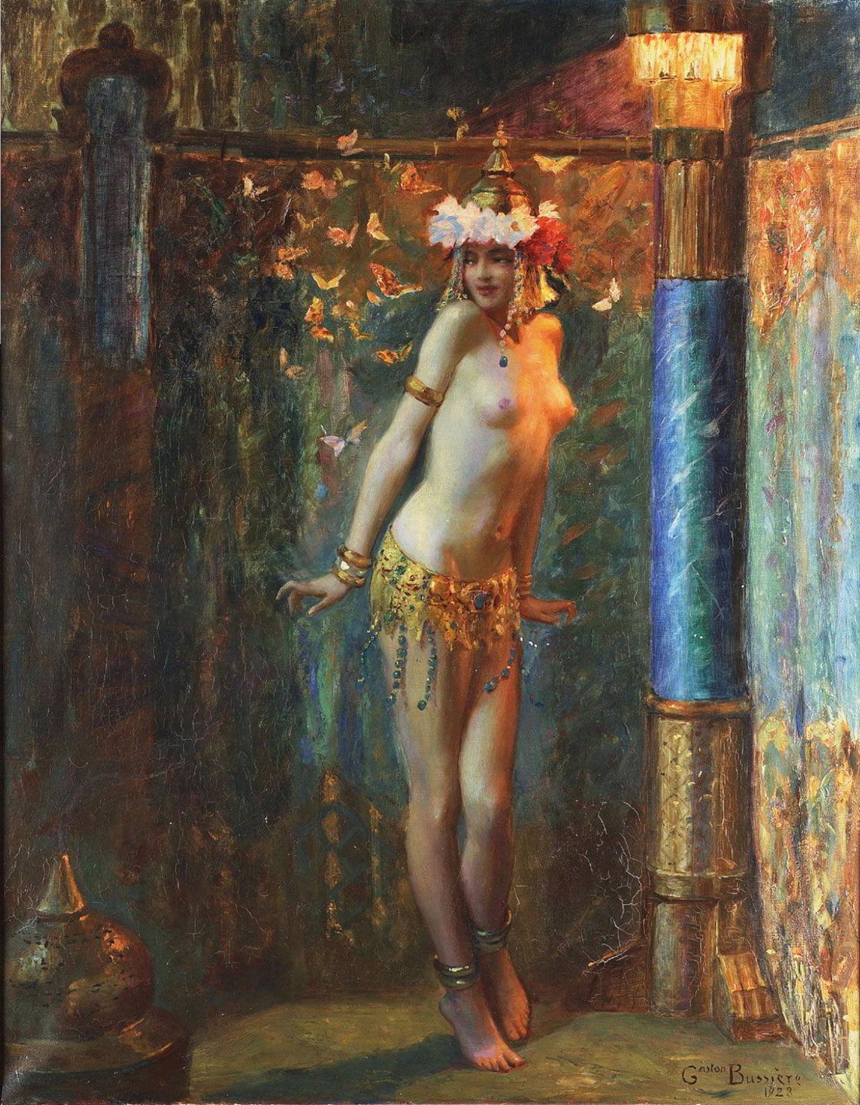 «Золотые бабочки» Бюссьера, или «Танцующая Саломея».  (2).jpg