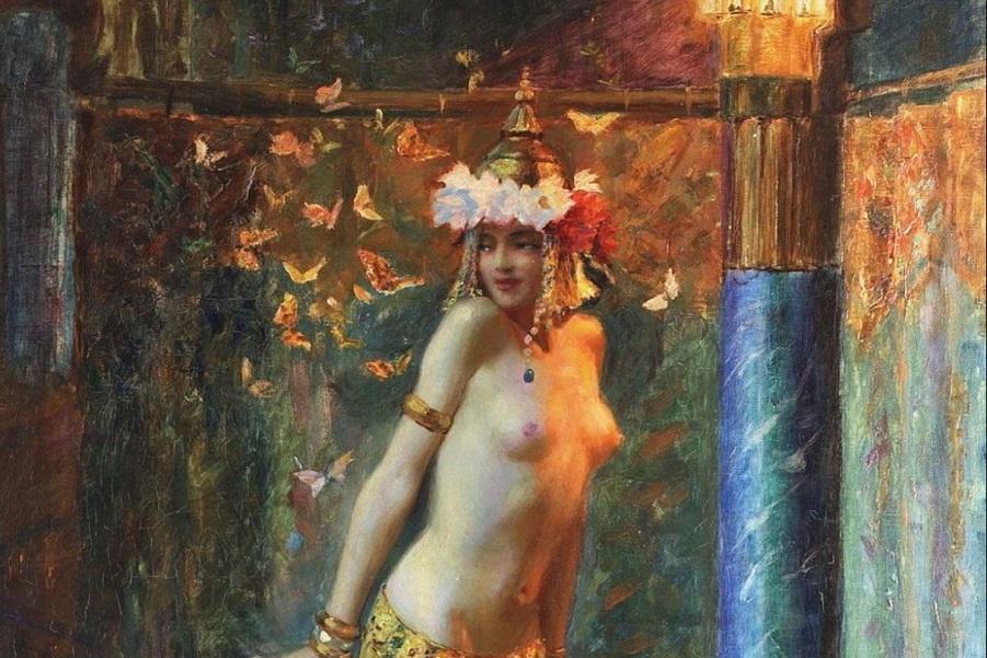 «Золотые бабочки» Бюссьера, или «Танцующая Саломея».  (3).JPG