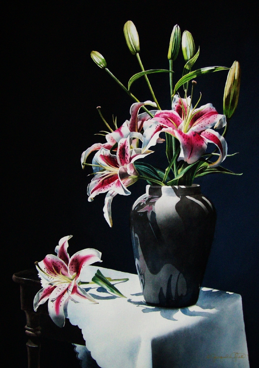 Still Life with Stargazers