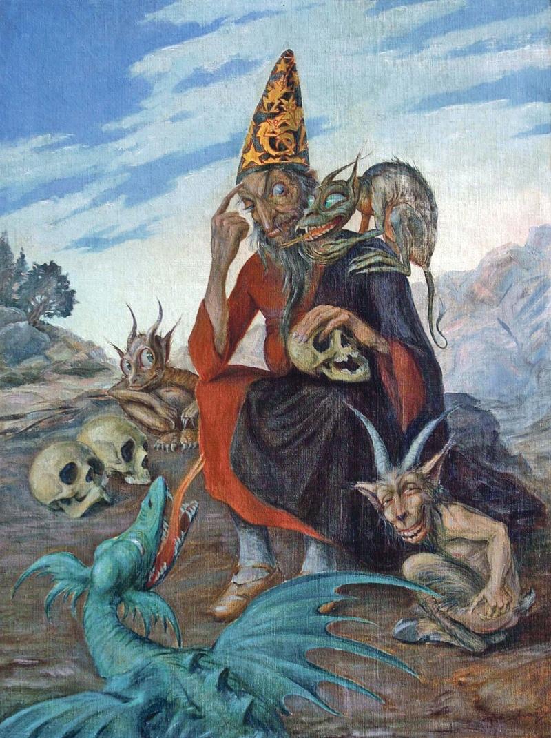 Чешский художник-символист и иллюстратор Алоис Богач  (4).jpg