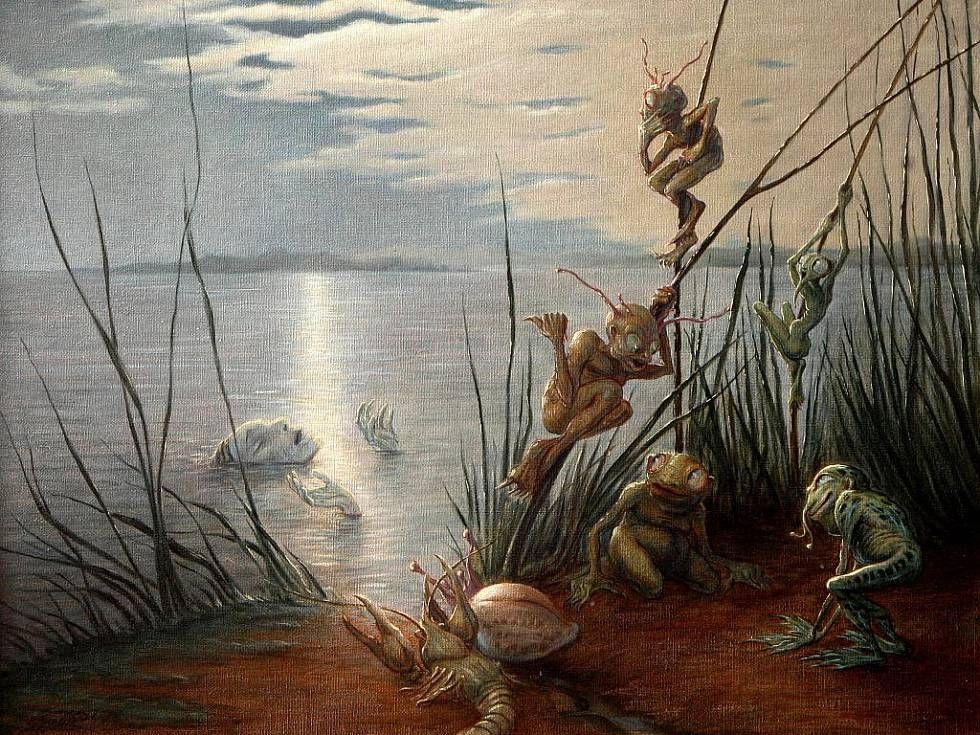 Чешский художник-символист и иллюстратор Алоис Богач  (8).jpg