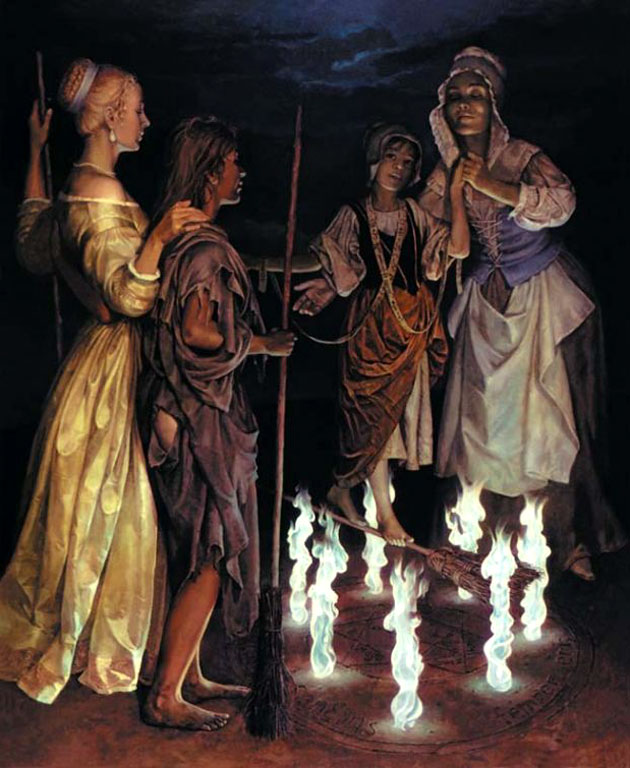 посвящение в ведьмы