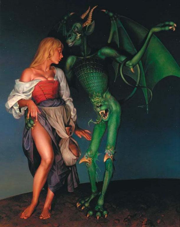 Рисунки секса ведьм с дьяволом