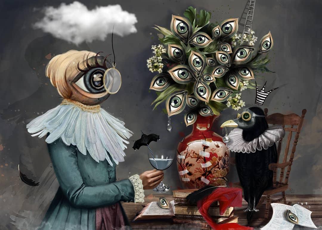 «Викторианский Сюрреализм» от Дурмуша Бахара (2).jpg
