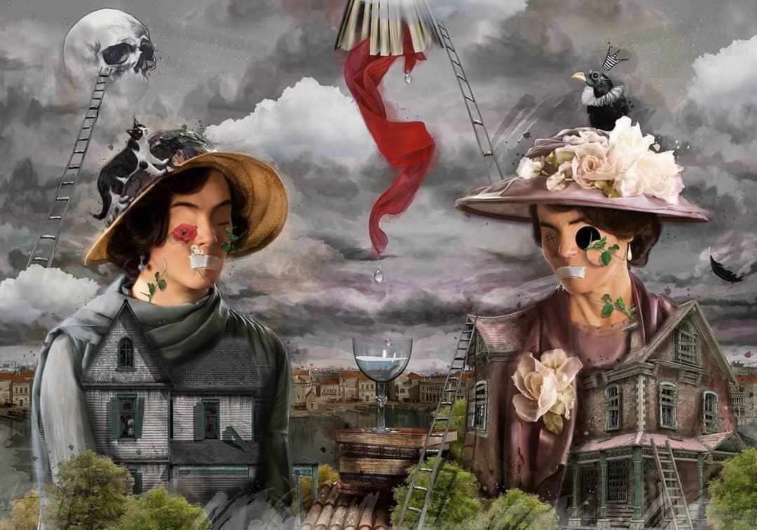 «Викторианский Сюрреализм» от Дурмуша Бахара (5).jpg