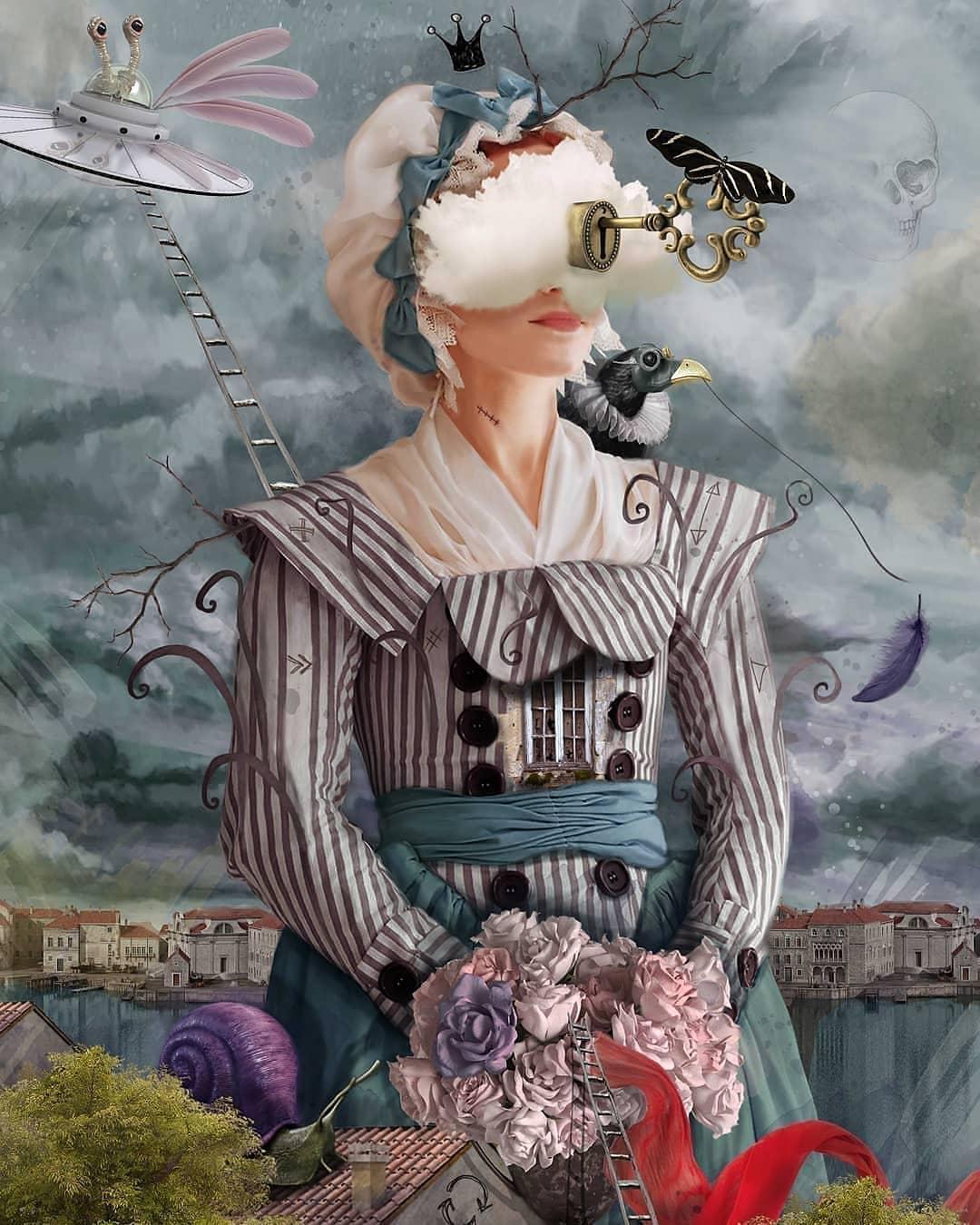 «Викторианский Сюрреализм» от Дурмуша Бахара (13).jpg