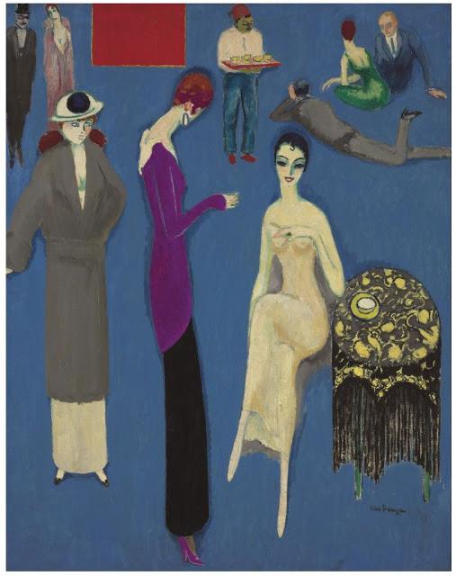 Кес ван Донген и его фееричные женщины